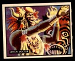 1950 Topps Bring Em Back Alive #40   Witch Doctor Front Thumbnail