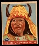 1947 Goudey Indian Gum #78   Yellow Tepee Front Thumbnail