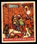 1947 Goudey Indian Gum #32   The Battering Ram Front Thumbnail