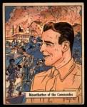 1941 Gum Inc. War Gum #64   Mountbatten Of The Commandos Front Thumbnail