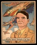 1941 Gum Inc. War Gum #76   Brigadier General Chennault Of The Tigers Front Thumbnail