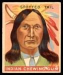 1933 Goudey Indian Gum #46  Spotted Tail   Front Thumbnail
