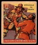 1947 Goudey Indian Gum #29   Struggle To Death Front Thumbnail
