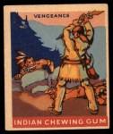 1947 Goudey Indian Gum #45   Vengeance Front Thumbnail