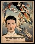 1941 Gum Inc. War Gum #55   Ace Lt. Edward H. O'Hare Front Thumbnail