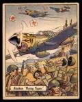 1941 Gum Inc. War Gum #124   Alaskan Flying Tigers Front Thumbnail