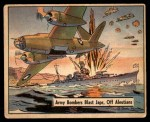 1941 Gum Inc. War Gum #82   Army Bombers Blast Japanese Off Aleutians Front Thumbnail