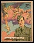 1941 Gum Inc. War Gum #103   Sergeant Pilot Gareth L. Nowell Front Thumbnail