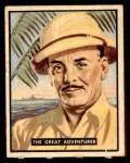 1950 Topps Bring Em Back Alive #32   The Great Adventurer Front Thumbnail