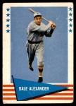 1961 Fleer #91  Dale Alexander  Front Thumbnail