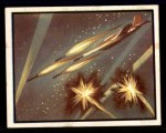1950 Topps Freedoms War #8   Rocket Blast   Front Thumbnail