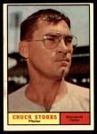 1961 Topps #431  Chuck Stobbs  Front Thumbnail