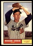 1961 Topps #543  Roger Craig  Front Thumbnail