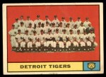 1961 Topps #51   Tigers Team Front Thumbnail