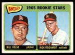 1965 Topps #194   -  Rick Reichardt / Bill Kelso Angels Rookies Front Thumbnail