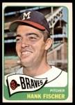 1965 Topps #585  Hank Fischer  Front Thumbnail
