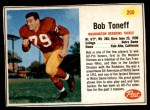 1962 Post #200  Bob Toneff  Front Thumbnail