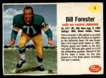 1962 Post #3  Bill Forester  Front Thumbnail