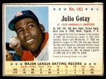 1963 Post #161  Julio Gotay  Front Thumbnail