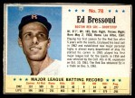 1963 Post #78  Ed Bressoud  Front Thumbnail