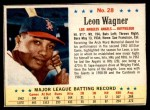 1963 Post #28 ERR L.Wagner   Front Thumbnail