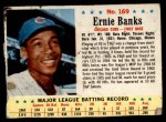 1963 Post #169  Ernie Banks  Front Thumbnail