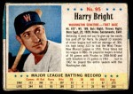 1963 Post #95  Harry Bright  Front Thumbnail