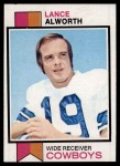 1973 Topps #61  Lance Alworth  Front Thumbnail