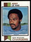 1973 Topps #522  Jerry LeVias  Front Thumbnail