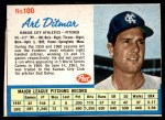 1962 Post #100  Art Ditmar   Front Thumbnail