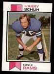 1973 Topps #273  Harry Schuh  Front Thumbnail