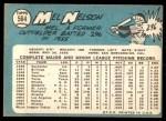 1965 Topps #564  Mel Nelson  Back Thumbnail