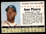 1961 Post Cereal #112 BOX Juan Pizarro   Front Thumbnail