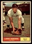 1961 Topps #208 xCOM Larry Osborne  Front Thumbnail