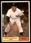 1961 Topps #40  Bob Turley  Front Thumbnail