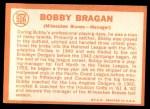 1964 Topps #506  Bobby Bragan  Back Thumbnail