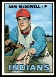 1967 Topps #295  Sam McDowell  Front Thumbnail