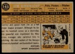 1960 Topps #145   -  Jim Umbricht Rookie Star Back Thumbnail