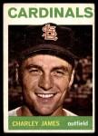 1964 Topps #357  Charlie James  Front Thumbnail