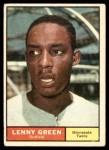 1961 Topps #4  Lenny Green  Front Thumbnail