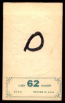 1965 Topps Embossed #62   Lee Maye   Back Thumbnail
