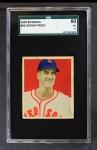1949 Bowman #86  Johnny Pesky  Front Thumbnail