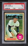 1968 Topps #502  Mike Andrews  Front Thumbnail