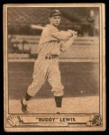 1940 Play Ball #20  Buddy Lewis  Front Thumbnail