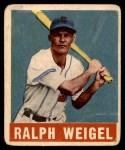 1948 Leaf #86  Ralph Weigel  Front Thumbnail