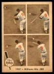 1959 Fleer #58   -  Ted Williams Hits .388 Front Thumbnail