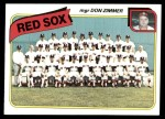 1980 Topps #689   -   Don Zimmer Red Sox Team and Checklist  Front Thumbnail