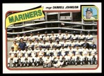 1980 Topps #282   -   Darrell Johnson Mariners Team and Checklist  Front Thumbnail
