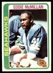 1978 Topps #244  Eddie McMillan  Front Thumbnail