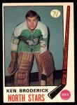 1969 O-Pee-Chee #197  Ken Broderick  Front Thumbnail